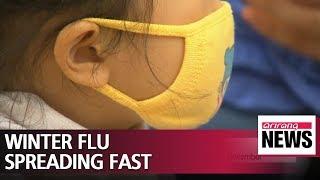 Winter flu spreading fast in South Korea