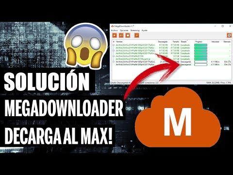 Nueva Solución MEGADOWNLOADER Error No Descarga Arreglado!