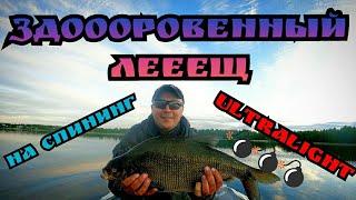 Как поймать леща на спиннинг Рыбалка в 4к на секретном озере Х на летние жерлицы и спиннинг День 3