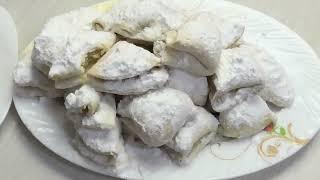 Печенье РАКУШКИ с сюрпризом внутри The cookie Shell is a very delicious recipe