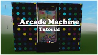 ROBLOX | Welcome to Bloxburg: Arcade Machine Tutorial