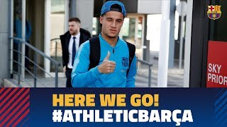 Trip to Bilbao ahead of the match against Athletic
