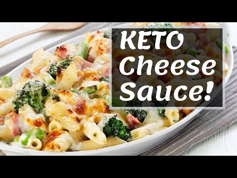 Keto Cheese Sauce | Low Carb Snacks Pure Keto Diet.