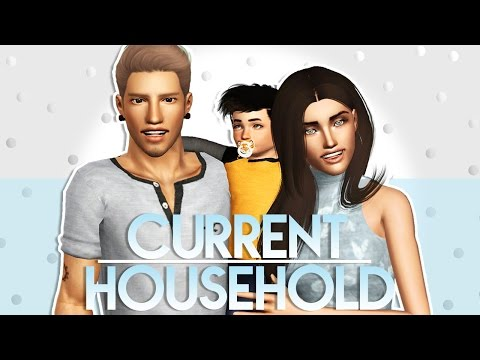 Sims 3 || Current Household: The Austin Household (March 2017)