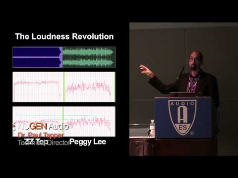 AES (Audio Engineering Society) Lecture: Audio Metering Techniques and New Challenges