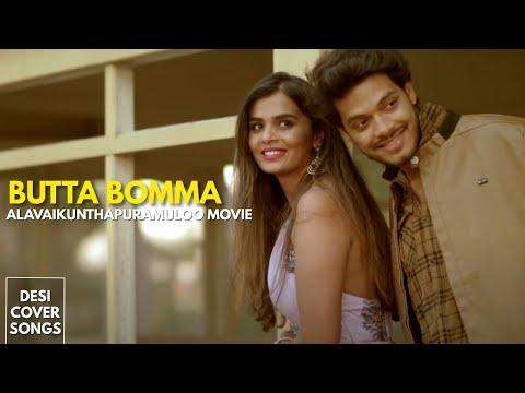 Butta Bomma | Ala Vaikunthapurramuloo | Allu Arjun | Pooja Hegde | Cover Song | Sandeep Raj Films