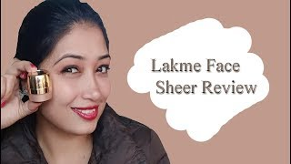 Lakme Face Sheer Highlighter Review| Reasonable Highlighter With Good Sheen|