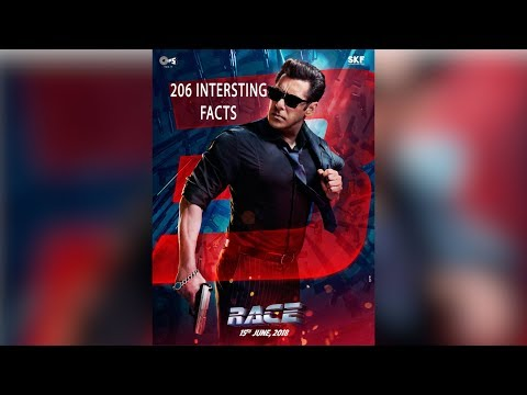 206 Interesting facts | Race 3 (2018) |...