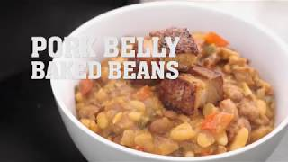 Pork Belly Baked Beans Recipe | Camp Chef