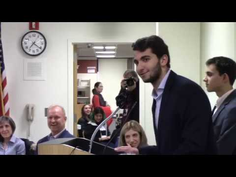 November 21, 2019 Board of Education Business Meeting - Greenwich High School - Part 1