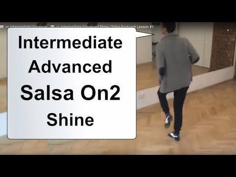Intermediate/Advanced Shine | Salsa Footwork Lesson #1