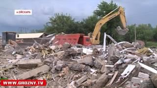 В поселке Ойсхара дан старт масштабным строительным работам