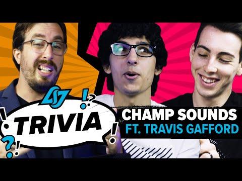 GUESS THAT CHAMPION SOUND #1 | CLG TRIVIA ft. Travis Gafford