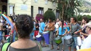 Democracia Real Ya!  19J - excerpts of mass protest in Malaga on 19 June 2011