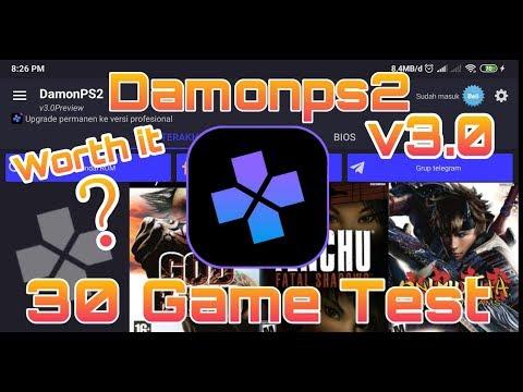 30 Game Test On  DamonPs2 V3.0 Pocophone F1