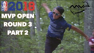 Round Three  2018 MVP Open - Back Nine MPO | McMahon, Orum, Jones, Longeill