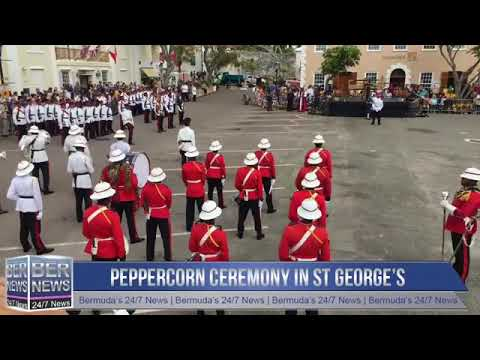 Part 1 |  Peppercorn Ceremony in St George's, April 24, 2019
