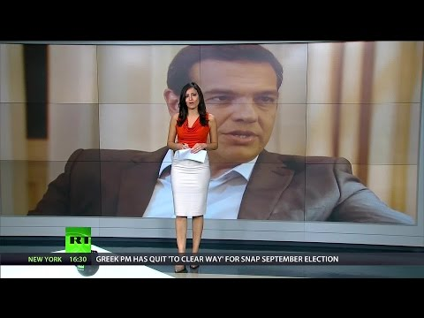 [418] Greek PM resigns and Chovanec on China