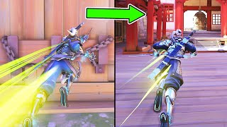 *NEW* OP Genji Trick! [DASH THROUGH WALLS!] - Overwatch Best Plays & Funny Moments #258