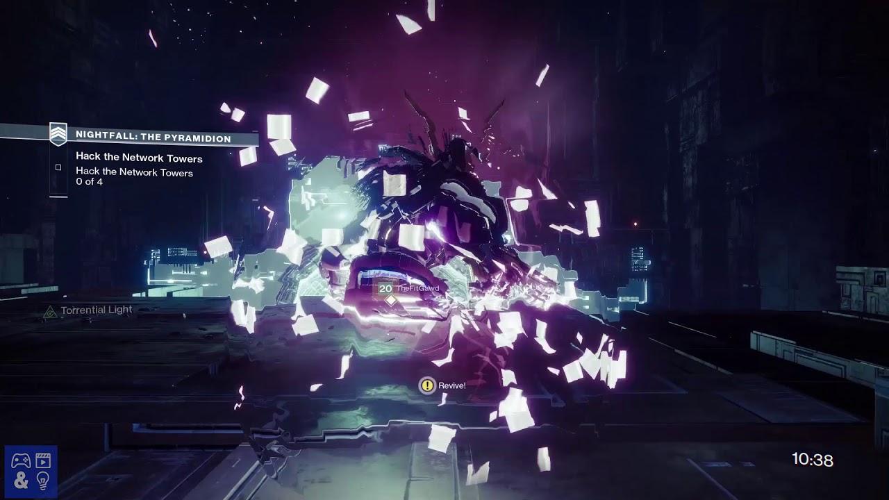 Destiny 2 The Pyramidion Nightfall Strike Guide - Torrent, Timewarp