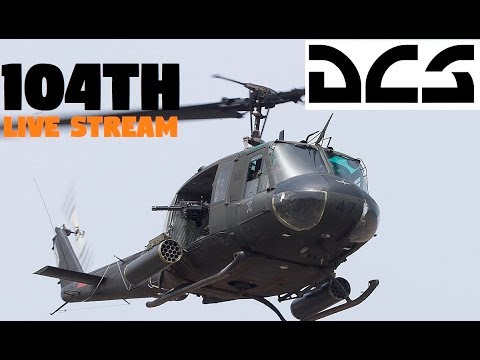 DCS UH1H | LIVE STREAM | 104th Server | Op Longbow | Transport Tuesday