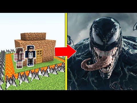 VENOM Tấn Công Nhà Được Bảo Vệ Bởi bqThanh và Ốc Trong Minecraft