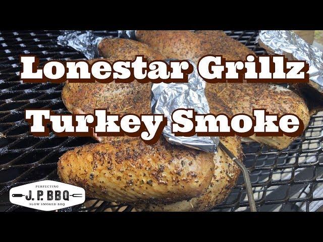 LoneStarGrillz Turkey Smoke
