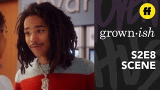 grown-ish Season 2, Episode 8 | Luca Gives Zoey a Pep Talk | Freeform