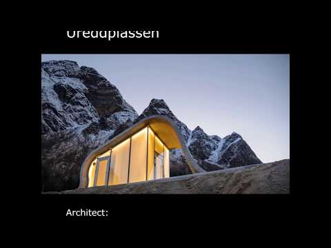 Architect Dan Zohar about Ureddplassen, Norwegian Scenic Rou