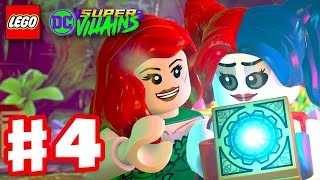 LEGO DC Super Villains - Gameplay Walkthrough Part 4 - Poison Ivy and Harley Quinn!