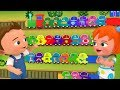 Toy Train Alphabets Phonics Toy Set | Little Babies Fun Play Learning ABC Phonics for Kids Children