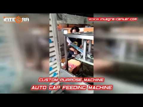 Custom Purpose Machine - AUTO CAP FEEDING MACHINE by INTEGRA CENTER Indonesia