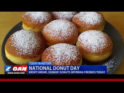 Today In History: National Donut Day