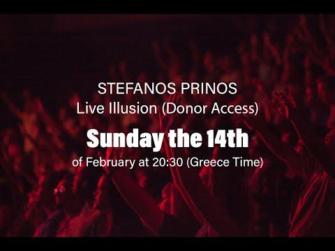 Stefanos Prinos - Online Concert (Donor Access) [promo2021]