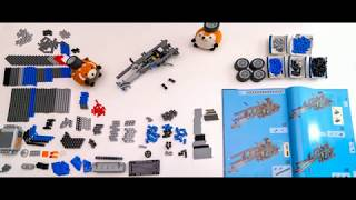 LEGO Technic Container Truck 8052 stop motion build
