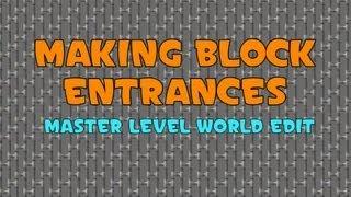 How to Make Prison Block Entrances - Expert Level World Guard Tutorial xD JK