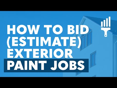 """""""How to Estimate Exterior Paint Jobs"""" By Painting Business Pro"""