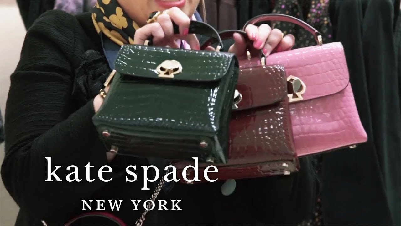 Kate Spade Christmas Cards 2019.New Fall Handbags Margaux Polly And Romy Bags Talking Shop Kate Spade New York