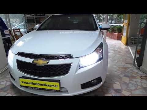 Chevrolet Cruze Farlara H4 LED Lamba Uygulaması