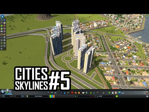 Cities Skylines with Chris #5 | MEGA buildings with the RICO mod
