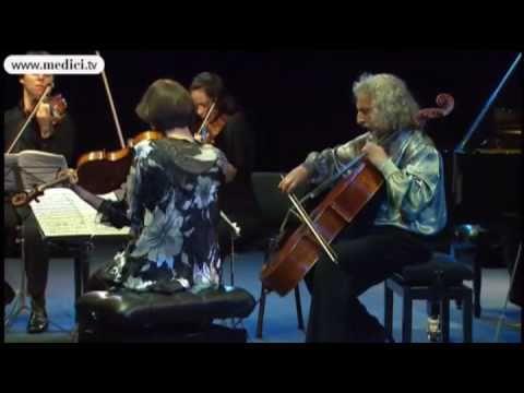 Joshua Bell, Mirijam Contzen, Kim Kashkashian, Mischa Maisky, Emanuel Ax play Dvorak