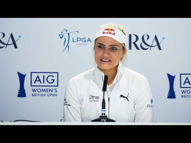 Lexi Thompson Sorry About Causing Delays at the 2019 AIG Women's British Open