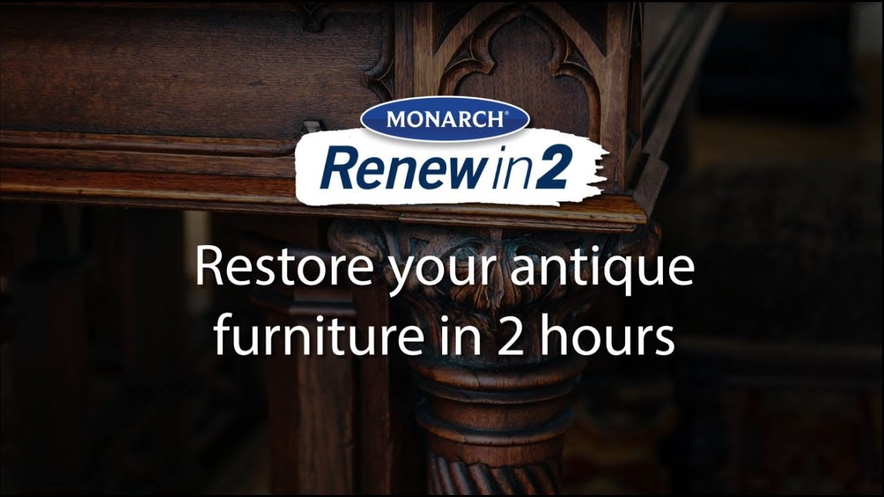 Restore your antique furniture in 2 hours