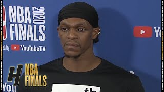 Rajon Rondo Postgame Interview - Game 2 | Heat vs Lakers | October 2, 2020 NBA Finals