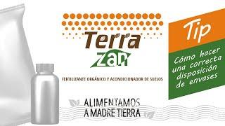 Terrazan | Tips para la finca | Cómo hacer una correcta disposición de residuos - Envases