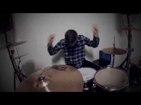 As It Is - Dial Tones (Drum cover, 100% GoPro)