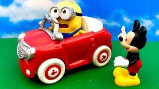 Myszka Miki i Minionki po Polsku ☺ Oddajcie moje Auto ☺ Bajka dla Dzieci