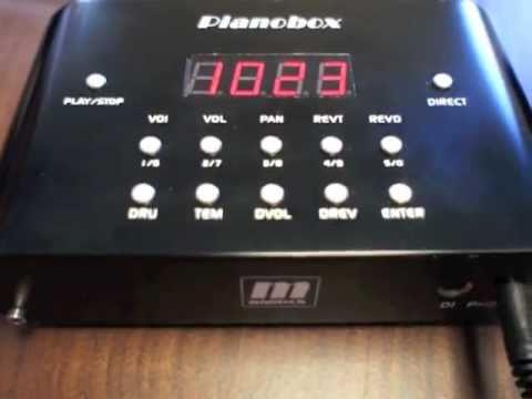 pianobox general midi sound module youtube. Black Bedroom Furniture Sets. Home Design Ideas