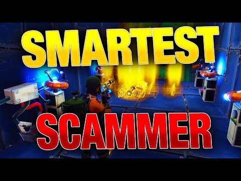How Scammer Gets Scammed are FAKE! | Fortnite Save the World