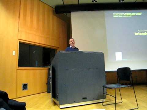 Brian Deer speaking at Ryerson University on February 16, 2011